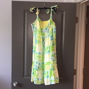 EUC Lilly Pulitzer size 8 patchwork sundress